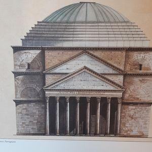 🏛🏛 Italian Architectural  Print